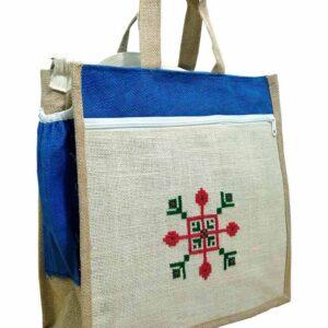 jute laptop carry bag